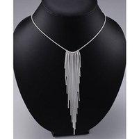 Collana a catena di serpenti per donne nappa pendente collane ciondoli argento colore gioielli charms gioielli choker colar