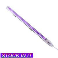 Luces UV Pintura y lámparas fluorescentes 1 pies 9W Iluminación negra ultra violeta LED de inundación, para fiesta de baile, luz negra, pesca, curado, cuerpo, EE.UU. it europa