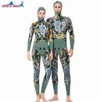 Llegada para hombre para mujer 3mm neopreno traje de neopreno con capucha Dos piezas Toma caliente para snorkeling Surfing Scuba Diving Swim Wear
