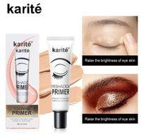 Karite Eye Makeup Eyeshadow التمهيدي للماء سهلة لارتداء قاعدة مستحضرات التجميل