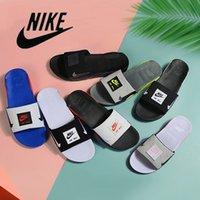 Nike air max 90 erkek kadın slayt terlik moda slaytlar 90s üçlü siyah beyaz gri açık erkek düz flip floplar plaj otel platformu sandalet 36-45