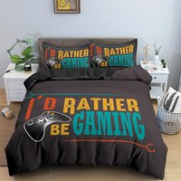 Video Game Bed Sets for Boys Gamer Comforter Gaming Themed Bedroom Decor Game Bedding Set Home Textile 1292 V2