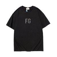 Dhgateclothexo | 21Ss brouillard peur de dieu essentiels t-shirts designers imprimés tee-shirt à manches courtes pour femmes fg chemise