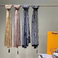 Top Venta de alta calidad Classic Women Women Fashion Bufandas Shawl 180 * 70 cm Pañuelo de cachemira para mujer sin caja