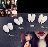 Hallowmas Joke Dişler Yanlış Diş Komik Vampir Şeytan Diş Sahte Diş Protezleri Cadılar Bayramı Cosplay Custome Prop Fantezi Elbise Parti EWD9887