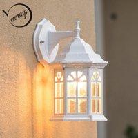 Wall Lamps Vintage Industrial Aluminum Birdcage Lamp Loft LED E27 220V Light Lamparas For Living Room Bedroom Hallway Restaurant