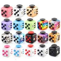 Fidget Toy Cube Decompresión Diceanti-Irritabilidad Ventilación Artifact Magic Fingertip Novelty Sensory Autism Need Need Ansiety Relefante Juguetes