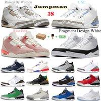 air jordan jordans aj3  3s jordon jordons men women 2021 fearless pink chicago obsidian mocha satin digital retro shoes 3  3s mens Jumpman basketball