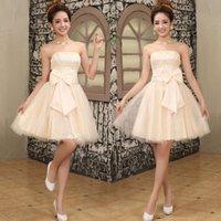 Party Dresses fashion toasting Bridesmaid host wedding evening Dress short skirt pregnant woman
