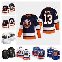 York Islanders 2021 Reverse Retro Hóquei Jersey 13 Mathew Barzal Jerseys Anders Lee Matt Martin Josh Bailey Cal Clutterbuck Personalizado Stitch