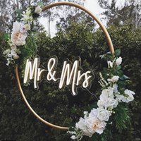 Other Event & Party Supplies Mr Mrs Flex Led Custom Neon Sign Light Ins Wall Decor 12V 3D Waterproof Outdoor Wedding Marriage Decoration