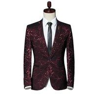 남자 정장 블레이저스 정장 재킷 남자 대형 S- 5XL 패션 비즈니스 블레이저 코트 슬림하고 우아한 가을 망 재킷