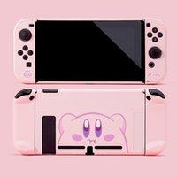 Игровые контроллеры Джойстики NS Switch Console Kirbyof Star PC Защитный чехол для Nintendos NX Joy-Con Cass Case Hard Back Cover Cover Accessoi