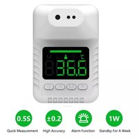 K3X Wall Mounted Non-contact Thermometer Digital Infrared Measurement Human Body Temperature Thermometer Termometro for Home Office