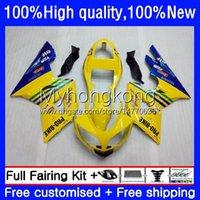 Fairings Kit For Triumph Daytona600 Daytona 650 600 CC 600cc 650cc 02-05 Body 10No.0 Daytona650 02 03 04 05 Daytona 600 2002 2003 2004 2005 ABS Bodywork Factory Yellow