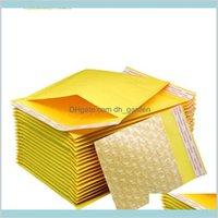 Office School Industrial 9 Taille 110130CM200250CM Selfealing Poly Kraft Papier Papier Envelope Sac PE Bubble rembourré Enveloppes Pa