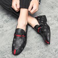 2021 TENDER ITALIANDO Hombre para hombre Zapatos de vestir de lujo Mocasines de lujo novio Doug Point Toe Calzado casual EUR Tamaño: 38-46