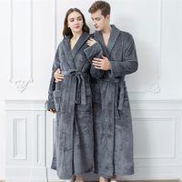 Sleep Bridesmaid Wedding Pijamas Velvet Kimono Night Dress Women Robe Nuisette Femme Long Pijama Mujer Invierno Sleepwear
