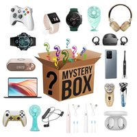 Party Favor 1XLucky Mystery Box Random Home Item Electronic Style Product Such Gamepads Headsets Smart Watches Fan Hair Curler Surprise Gift