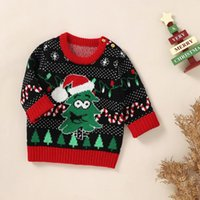 Pullover Baby Ugly Christmas Sweaters Clothes Autumn Winter Knitted Born Infantil Boys Girls Pullovers Tops 0-18m Toddler Jumpers Wear
