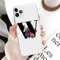 English Letters case for 12mini 12 pro max Protective Cover Transparent Soft Shell IPhone11promax Mobile Phone samsung