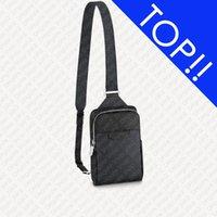 맨 위. M30741 야외 슬링 가방 Sac Slingbag 디자이너 망 이클립스 크로스 바디 메신저 애비뉴 스포티 한 사이클링 어깨 배낭 가방 포켓