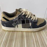 In USA Magazzino Dunk Sb Travis Scotts Scarpe da corsa Sneakers Top Quality Sport Uomini Donne Dimensioni 38-45 con metà