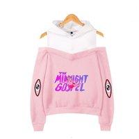 The Midnight Gospel Women Hoodie Sweatshirt Harajuku Streetwear Hip Hop Long Sleeve Sexy Off Shoulder Fleece Hooded Jacket