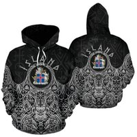 Men's Hoodies & Sweatshirts Iceland Coat Of Arms 3D Printed Fashion Pullover Men For Women Sweater Cosplay Costumes