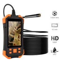 "Y20 5.5mm 4.3 ""IPS Ekran Endüstriyel Borescope Endoskop Kamera Muayene Kamera"