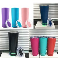 11 Color Stainless Steel Women's Summer Large Caliber Portable Bluetooth Music Water Mug Wide Mouth High Appearance Level Coffee Mug