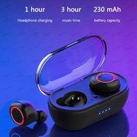 A2 TWS 5.0 Kulaklık Kablosuz Bluetooth Kulaklık Su Geçirmez Stereo Kulaklık Dokunmatik Kontrol Kulaklıklar Powerbank Şarj Kılıfı Için Huawei Samsung Iphone