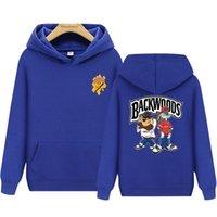 ~ Сигарная backwoods пару капюшонов повседневная пальто спорт пуловер мужской свитер