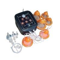 Terapia de vacío y ampliación de pechuga y tope Levantamiento elevado de vibrador eléctrico Máquina de masaje Máquina de masaje Formado de drenaje linfático Vibración Vibración Vibración