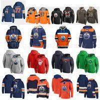 Edmonton Oilmers Kazak Hokeyi Hoody Ceketler 74 Ethan Ayı Tişörtü Alex Chiasson Kapşonlu Mikko Koskinken Hoodies 15 Josh Archibald Man Kadın Gençlik