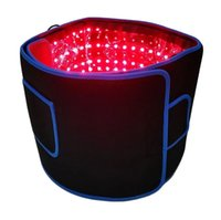 Pain Relief Fat Loss Light Belt Infrared 660Nm 850Nm Led Red Light Infrared Therapy Wrap Belt For Body Slim