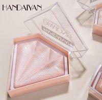 Handaiyan 5 اللون تمييز لوحة ماكياج الوجه كونتور مسحوق برونزر المكياج الخدود protection paltenes