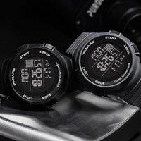 Homme de sport montre militaire imperméable à LED compte à rebours chronographe montres hommes d'alarme horloge électronique horloge relookjes reloj hombre montre-bracelet