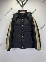 2021 зимняя мужская пуховик для куртки дизайнеры одежды женские куртки с длинным рукавом письмо напечатаны с капюшоном мужчин женщин высокое качество одежды