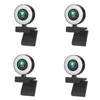 Webcams 1080P / 2K / 720P USB Webcamera voor PC Computer Beauty Auto Focus Free Drive Cam 3 Vullen Vul Light Streaming
