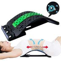 Accessories Shiatsu Massage Stretcher Stretch Body Relax Muscles Relieve Spine Problems Press Back Keep Waist Healthy Supporter