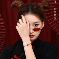 Fábrica Guochao Palace Museum Dance Bracelet O Ano da Vida Red Hand Rope Lion Lion Pulseira Estudantes Natal Ne