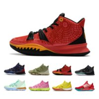 Новый выпуск Kyrie 7 Mens Dunks Баскетбольные туфли 7s Compred Blue Arcular Ирвинг Мужчины Тренеры Спортивные кроссовки Размер 7-12