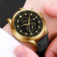 Wristwatches Men Watches Men's Quartz Male Clock Top Military Wrist Meski For Sports (Small Dial No Work