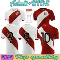 20-21 Peru Anpassad Thai Quality S Tröjor Carrillo 18 Flores 20 Fotboll Guerrero 9 Farfan 10 Yotun 19 Cueva 8 Custom Wear Football 2021