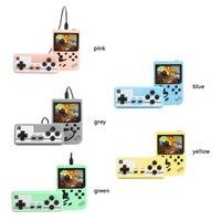 Mini Handheld Macaron لعبة PALYER 500/400 في 1 الرجعية ألعاب الفيديو لعبة 8 بت 3.0 بوصة الملونة شاشات الكريستال السائل الدعم اثنين من اللاعبين