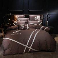 Bedding Sets Pattern Whole Cotton Bedsheet Set Quilt Duvet Cover Bed Pillowcase Luxury Queen King Size 4Pieces
