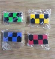 ماجيك لانهائي مكعب abs fingertip تململ اللعب الإبداعية الضغط الحسي لعبة تعليمية مكتب الوجه مكعب لغز الإجهاد التدريجي توحد لعبة 4 ألوان