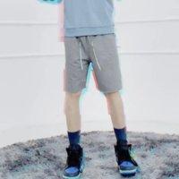Özelleştirilmiş Pamuk Özel Etiket Erkek Atletik Hızlı Kuru Özel Kalın Mektup Yürüyüş Rahat Mesh Basketbol Terlemeleri Şort Mens Için