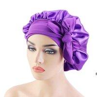 Frauen Spitze Schlafkappen Dusche Cap Bowknot Nightcap Perm Hat Mode Badewanne Haare Wasserdichte Hüte Haarschmuck DHB7376